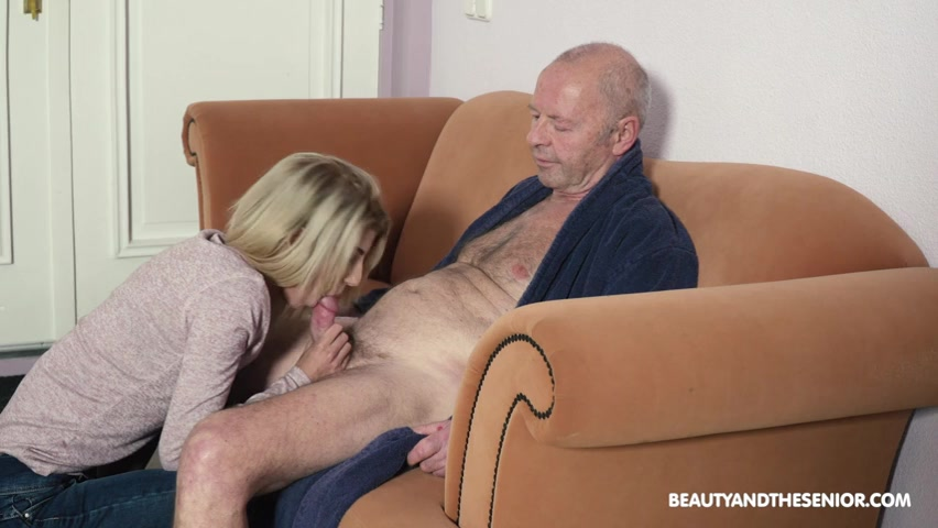 Old Man Fucks Young Woman